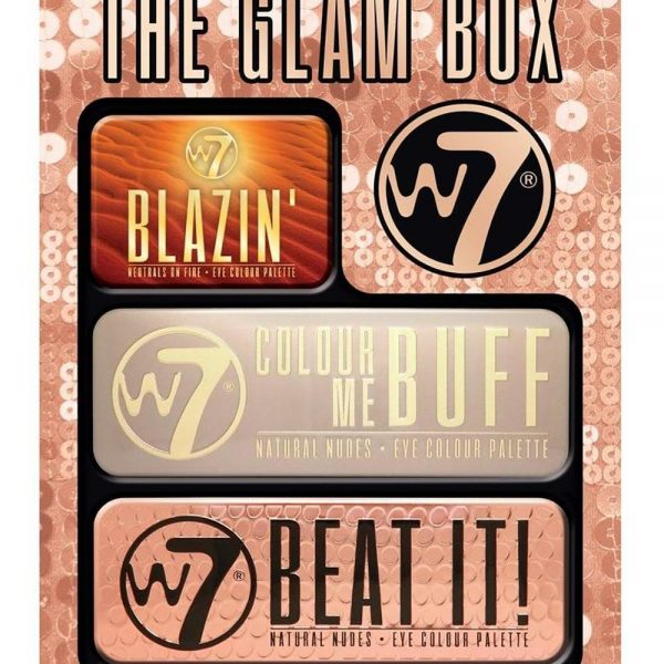 7 The Glam Box-Baby Blazing , Colour Me Buff ,Colour Me Nude 3τμχ
