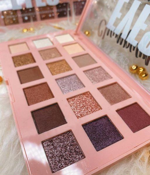 Sunkissed Champagne Eyes High Pigmented Eyeshadow Palette 18gr