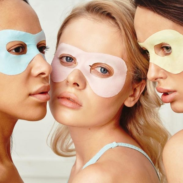 7DAYS CANDY SHOP Eye mask PINK VENUS Strawberry and Milk Proteins 10g