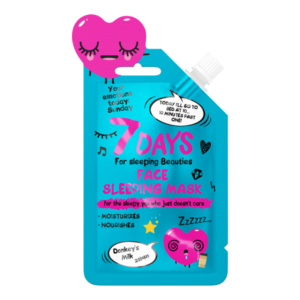 7DAYS YOUR EMOTIONS Sleeping Face Mask 25ml