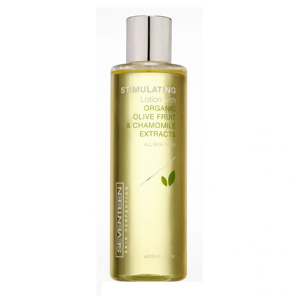 Seventeen Stimulating Lotion With Organic Olive Fruit & Chamomile Extracts 200ml